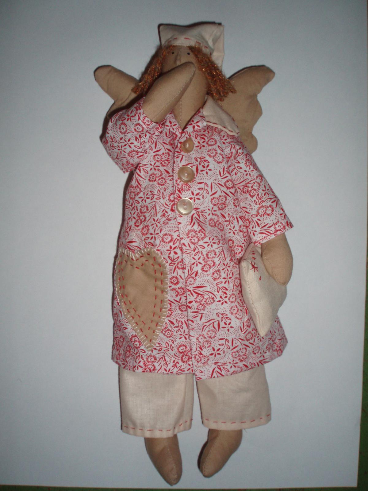 Продано. Интерьерная кукла Тильда Сонный ангел