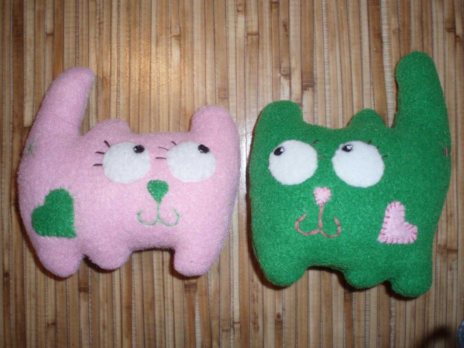 Котики-валентинки