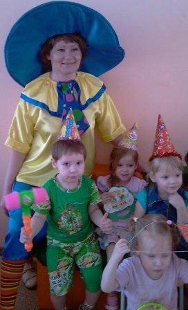 Незнайка в детском саду