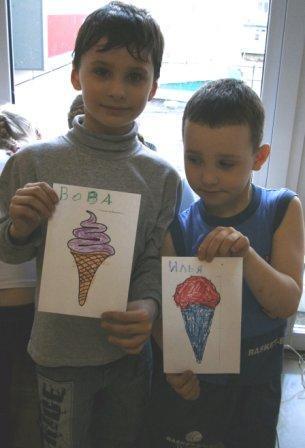 Рисуем мороженое на Празднике мороженого
