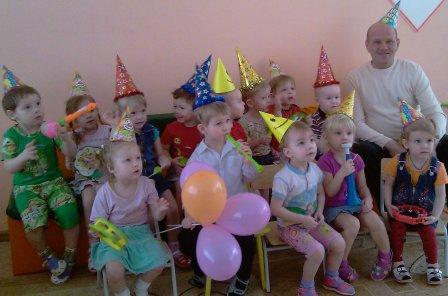 День рождения детском саду