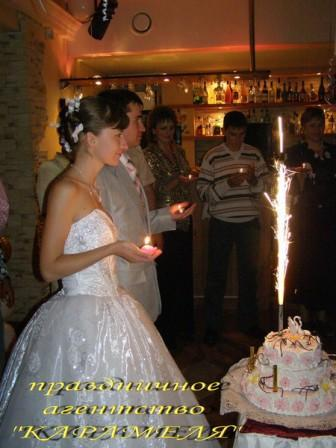 Свадебный торт - символ счастья!