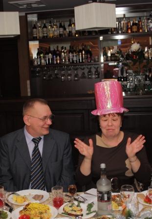 Волшебная шляпа на юбилее