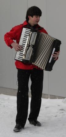 Константин Беспалов - аккордеон